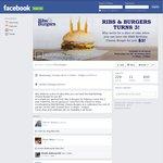 Ribs & Burgers - $3 Cheeseburgers 29/10/14 (NSW, VIC, QLD)