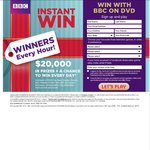 Instant Win DVDs or Merchandise from BBC