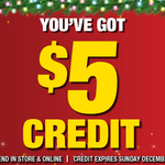 Supercheap Auto - Free $5 Credit Again for Members