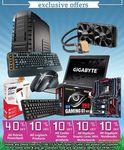 10% OFF Logitech, CoolerMaster, Gigabyte Mobo +GPU+ BRIX, Gigabyte Notebooks (except Aorus) @MSY