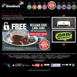 Domino's FREE Belgian Choc Lava Cake w/ Pizza Purchase
