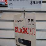 32GB Emtec Click 3.0 USB Drive - $10 @ Australia Post