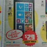 Dick Smith Optus Nokia Lumia 530 (Locked to Optus) $29