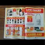 3x 700ml Bundaberg UP Rum for $93 and Others @ Coles Liquorland
