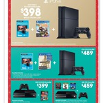 PS4 1TB + Uncharted NDC + 3MTH Stan $489, XBOX1 500GB + Game $399, XBOX1 + 3 Games $459 @ Target