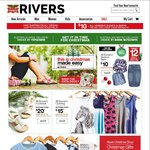 Rivers Nothing over $20 Men's Clothing + Women's Clothes and Footwear