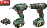 Bosch (Green) 18V 2 x 1.5Ah Cordless Drill Combo $199 @ Bunnings Warehouse