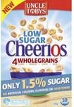 Uncle Tobys Low Sugar Cheerios 320g $2.05 (Was $4.51) @ Coles
