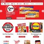 Coles 27/04: Mccain Family Pizza $3.25, 50% off Olay, Oreo $1, Spam $2.45, Pepsi/Solo/Sunkist 1.25l $1.1