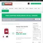 First Aid Kit $39.91 Delivered (Normally $63) @ Survival Emergency Solutions