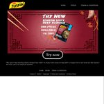 FREE Packet of Maggi Korean Spicy Beef Fusian Noodles (500 Only)