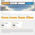 Tiger Flights March 1-29. PER-SYD $49, Bris-Adel $29, MEL- Cairns/Bris $39