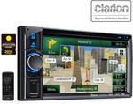 """Clarion NX404AU 6.2"""" CD DVD Dual USB W Built in Navigation 3 YR Warranty $699 + Post @ BrandBeast"""