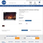 Viano 32-Inch HD LED TV With Built In DVD Player $199 (Was $299) @ Big W (In Store Only)