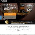 50 MustEspresso (Nespresso Compatible) Capsules for $19.95 Inc. Shipping @ Coffee Pod Shop