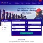 Direct Full Service Santiago Flights $1,149 Return on LATAM