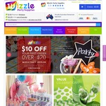 FREE Shipping on All Orders over $30 at Wizzle Party Supplies