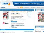 Transformers Marvel Crossovers - Spiderman Iron Man 2 Pack $15 Target