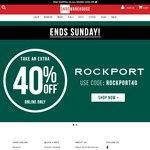 Take a Further 40% off Already Reduced Rockport Styles + Free Shipping on Orders over $99 @ Shoe Warehouse Online