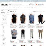 Take a Further 50% off on Already Reduced Women's Men's Youth Clothing at Myer