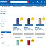 JBL Flip 3 Bluetooth Speakers - $70 @ Officeworks Online & Instore
