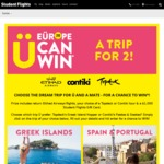 Win Your Choice of European Getaway for 2 Worth Up to $11,560 from Flight Centre [Age 18-35]