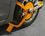 Wheel Clamp $39.99 - ALDI 4th November Special Buy