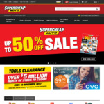 Supercheap Auto $5 Credit for Club Plus Members