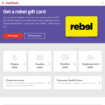 Join Medibank, Get $150 or $300 Rebel Gift Card [New Members Only]
