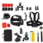 GoPro Accessories 32pcs (Pack Case Head Chest Monopod Bike Surf Mount) - $3.99 (Vic C&C or + $5 Delivery) @ Goldcart