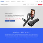 DOBOT Rigiet Advanced 3-Axis Stabilizer Gimbal for GoPro / Smartphone AUD $237.50 / $184 USD Shipped @ Dobot.cc