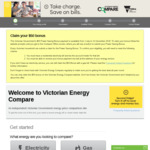 [VIC] Get $50 Bill Credit When You Use The Victorian Energy Compare Website to Compare Provider Offers (1 Per Household)