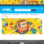 5% Site-Wide at DWI Digital Cameras