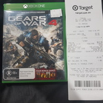[QLD] [XB1] Gears of War 4 $20 [With Digital Download of Gears of War 1, 2, 3 and Gears of War Judgement] from Target Robina