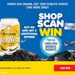 Spend $50 @ LiqourLand Online and Get 1000 Bonus FlyBuys Points