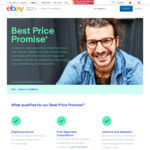 eBay Best Price Promise - 110% Refund of Price Difference from 130 Retailers (Coupon) 48 Hour Claim Time for Certain Items