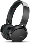 Sony XB650BT EXTRA BASS Bluetooth Wireless Headphones (Black) $98.00 Delivered @ Sony