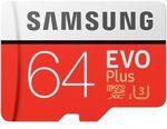[eBay Plus] $15.95 Samsung 64GB Evo+ and $34.95 for Samsung-128GB Evo+ Micro SD Card 100MB/s + Adapter @ Smooz-Gamer eBay