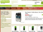 Rio Organic Coffee Beans, Peru Blend, 250g $6.95 + free delivery (limited time)