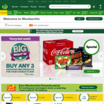 $10 off $130 Spend @ Woolworths Online