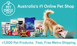 [QLD] $5 for $25 Online Pet Circle Credit (Minimum Spend $90, New Brisbane Users Only) via Groupon