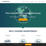 Smartproxy - 20% off Selected Plans. $60 USD/Month ($83.50 AUD/Month)