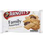 Arnott's Family Assorted Biscuits 500g $2.25 (Normally $4.50) @ Coles