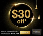 $30 off (Min Spend $200) @ Good Food Gift Card