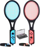[Switch] Tennis Racket for Joy-Con with 12 in 1 Game Case $14.49 + Delivery (Free with Prime/ $49 Spend) @ Tendak Amazon AU