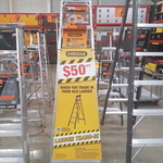$50 off Selected Industrial Gorilla Ladders ($199 or above) When Trading in an Old Ladder @ Bunnings