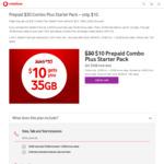 Vodafone Prepaid SIM $40 Starter Pack – $15 @ Vodafone
