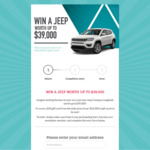 Win a Jeep Worth $39,000 or Daily $50 Gift Cards [NSW/QLD/SA/TAS/VIC/WA - Make a Purchase at a Participating Shopping Centre]