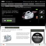 Braun CareStyle 3 Steam Generator Iron IS3045WH - $199 (Was $369) Delivered (+ $50 Cashback via Redemption) @ Braun Household