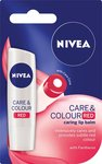 [BOGOF] 2x Nivea Care & Colour Red Tinted Lip Balm, 4.8g $2.99 + Delivery (Free with Prime/ $49 Spend) @ Amazon AU